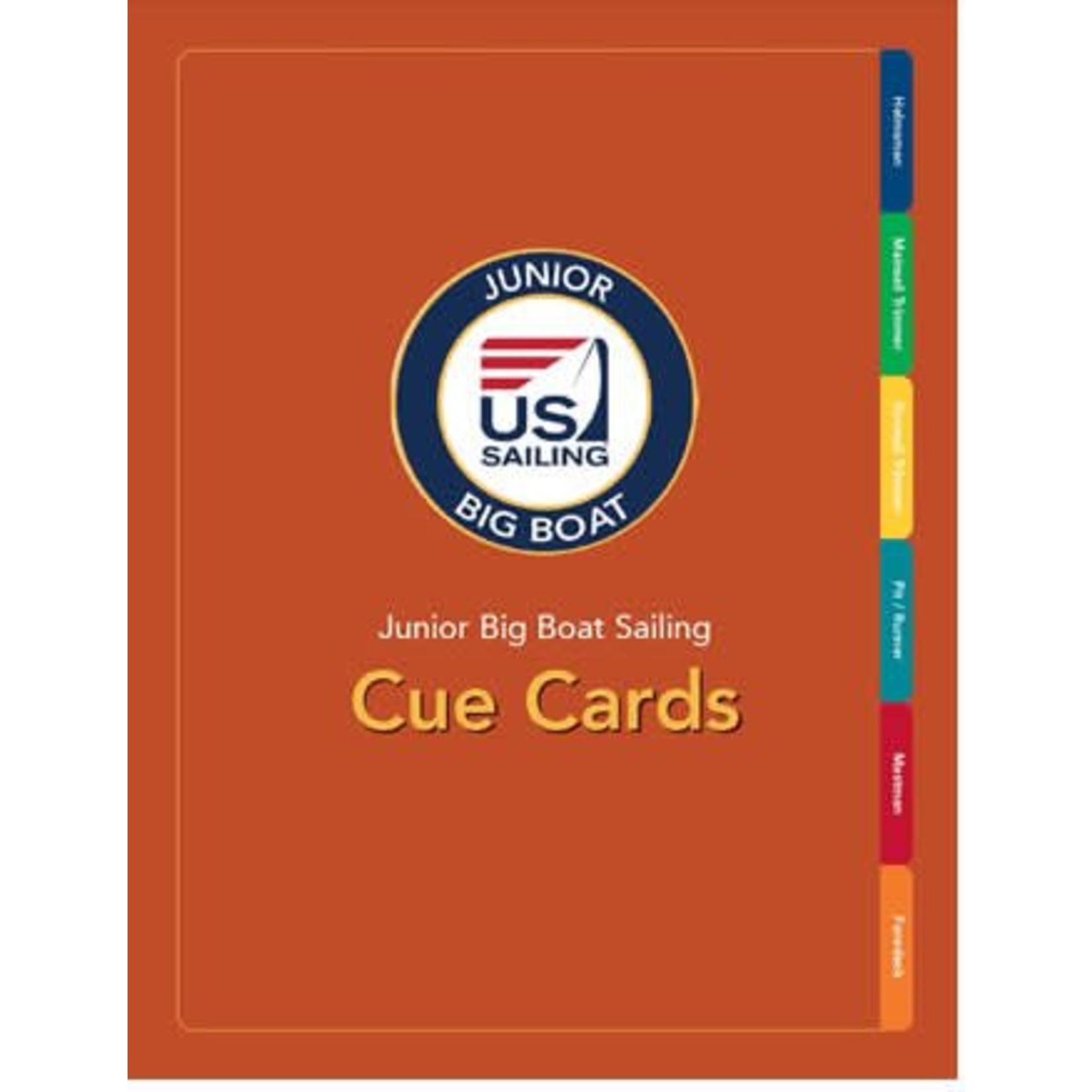 TEXT Junior Big Boat Sailing Cards