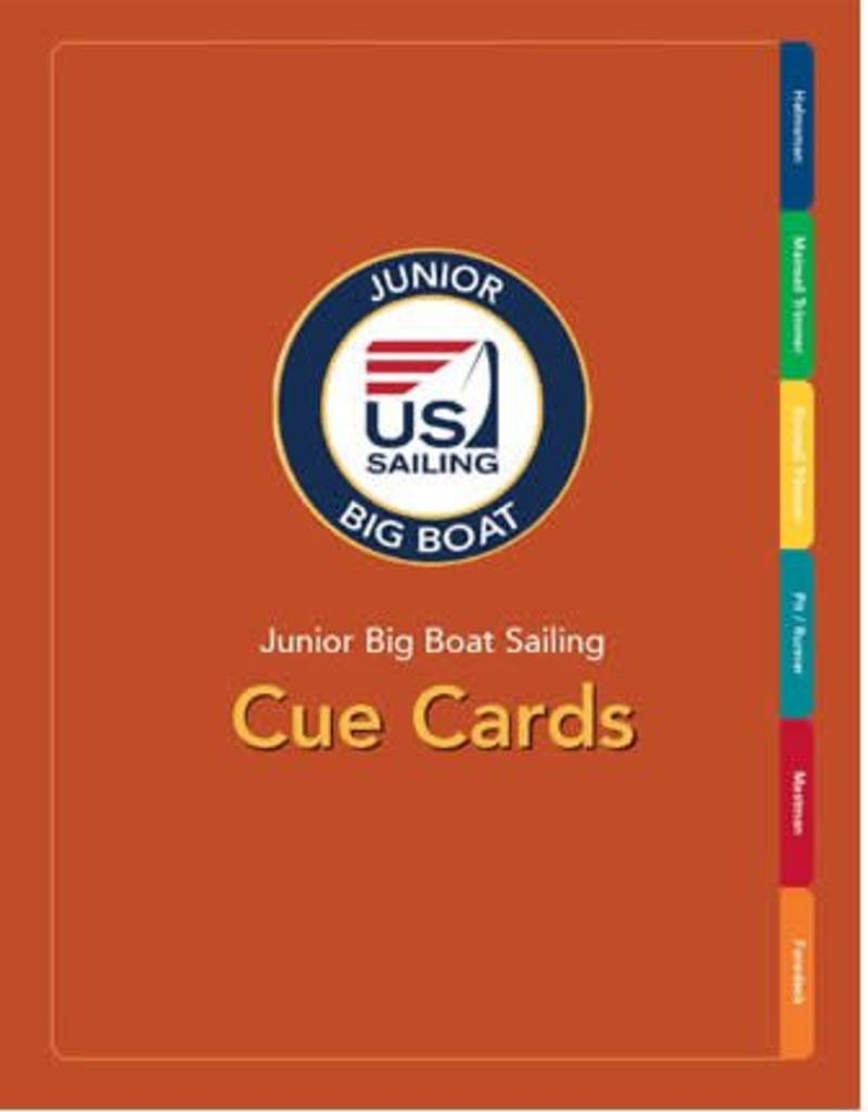 TEXT Junior Big Boat Sailing Cards