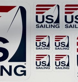US Sailing Sticker Sheet