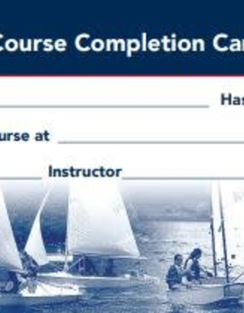 Student Completion Card