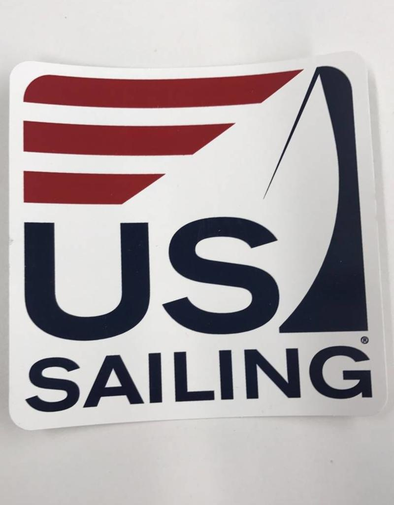 Small US Sailing Sticker