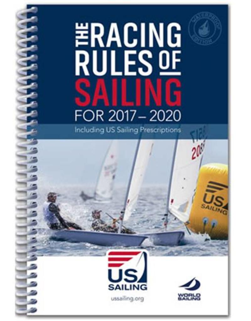 TEXT The Racing Rules of Sailing for 2017-2020 Waterproof Edition