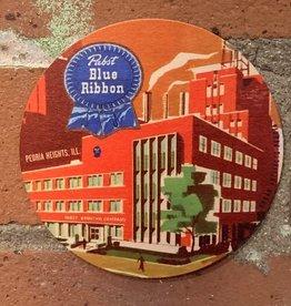 UA Merch Pabst Peoria Heights Brewery Coaster Set