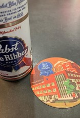 UA Merch Pabst Peoria Heights Brewery Coaster New