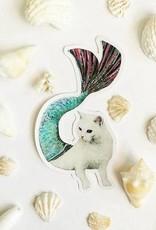 Cat Mermaid Sticker