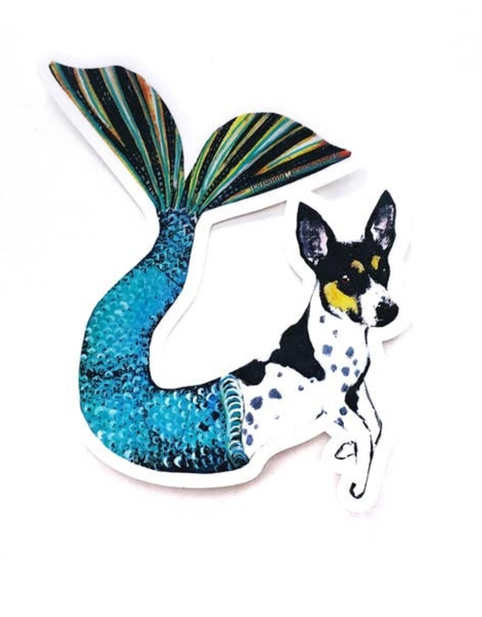 Dog Mermaid Sticker