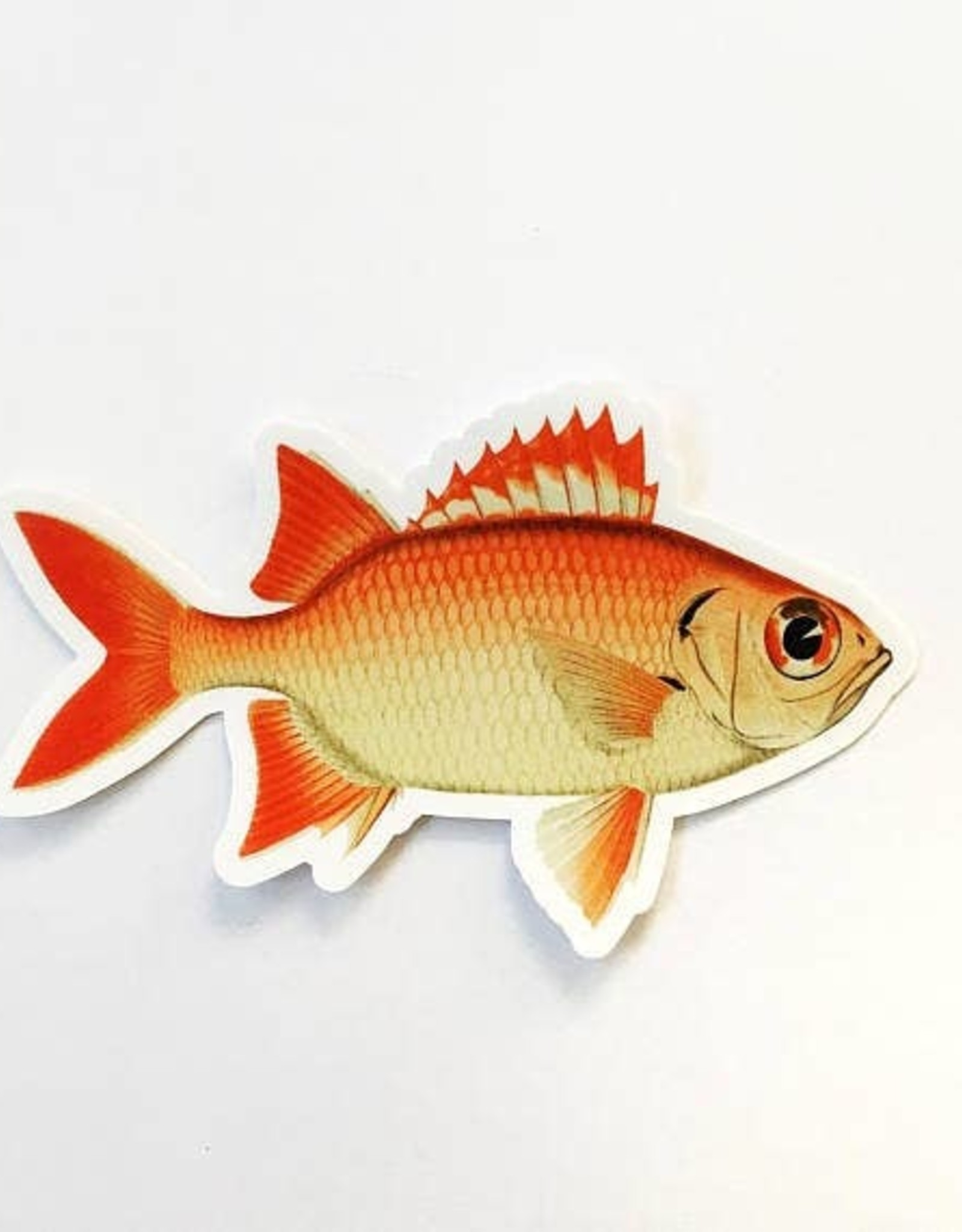 Red Fish Sticker