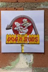UA Merch Dog n Suds Sticker