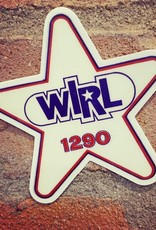 UA Merch WIRL 1290 Car Star Sticker