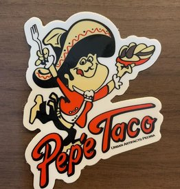 UA Merch Pepe Taco Sticker