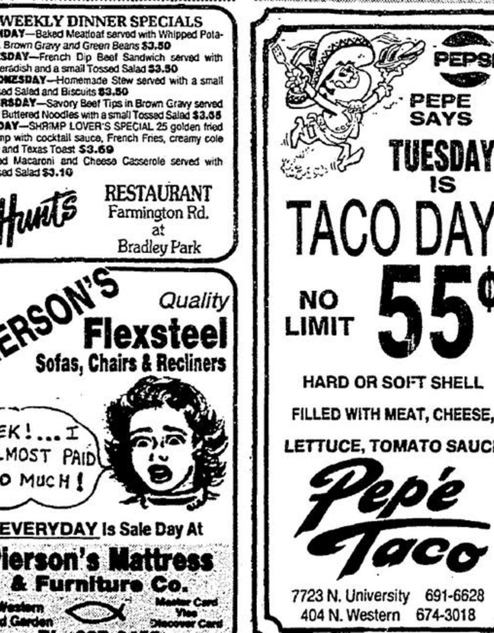 UA Merch Pepe Taco Sticker