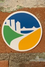 UA Merch City of Peoria Logo Sticker
