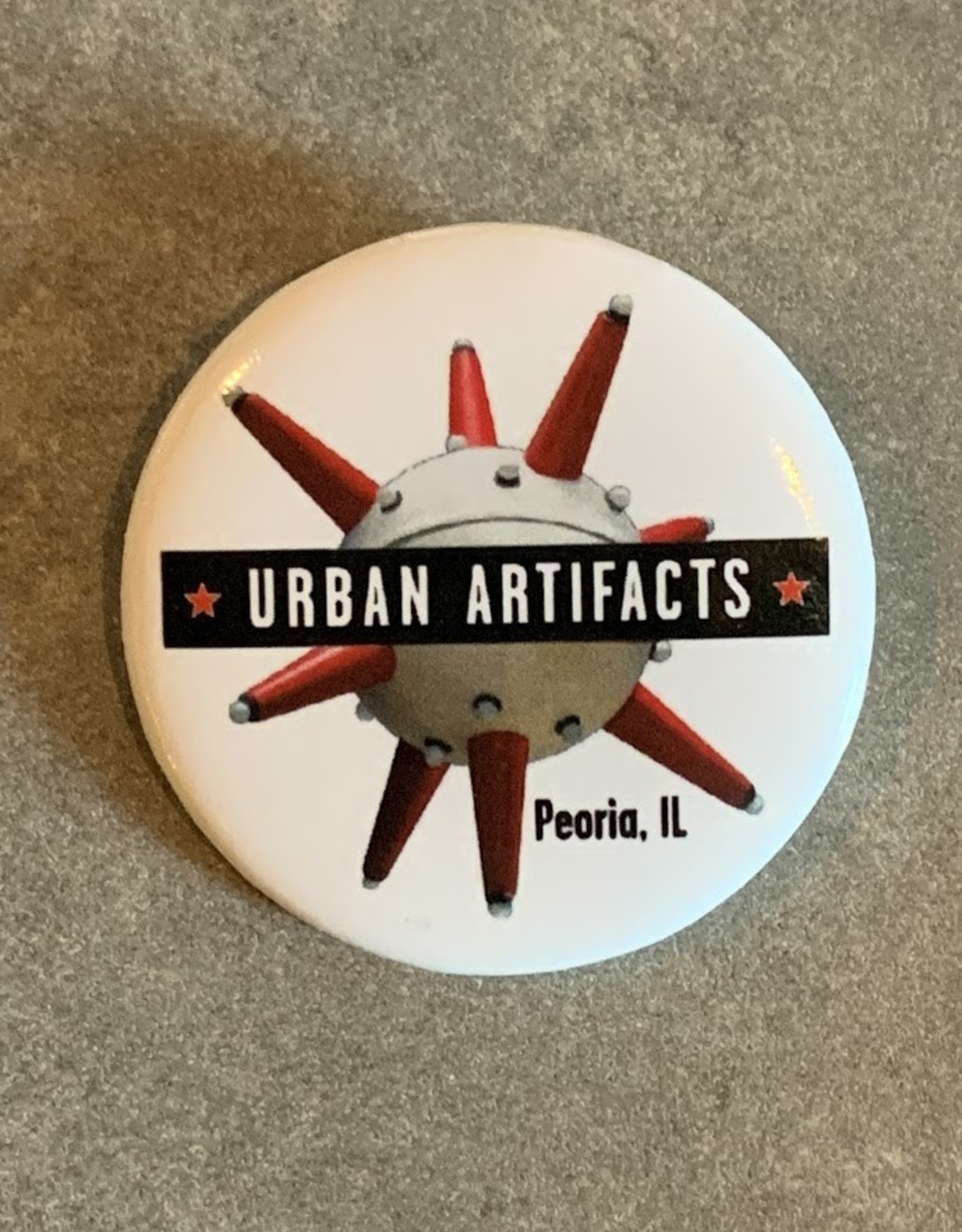 UA Merch Urban Artifacts Button
