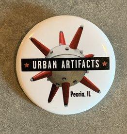 UA Merch Urban Artifacts Button
