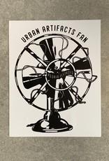 UA Merch Urban Artifacts Fan Sticker
