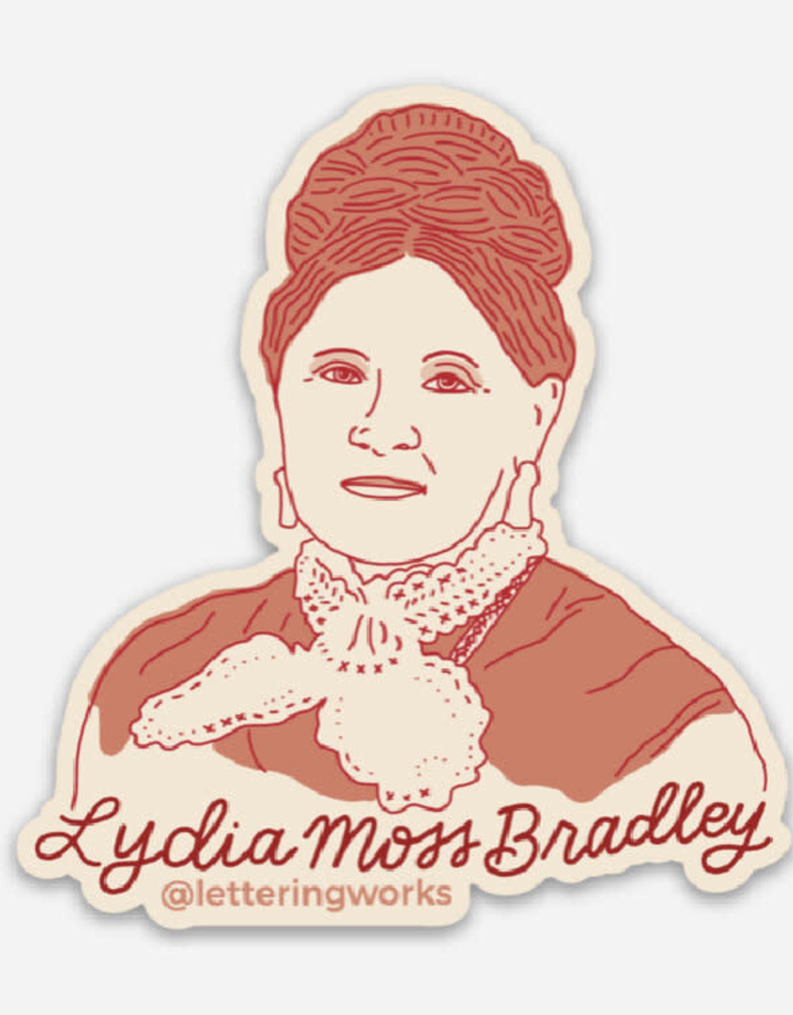 UA Merch Lydia Moss Bradley Sticker