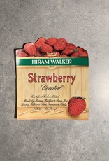 UA Merch Hiram Walker & Sons Peoria Il. Strawberry Cordial Label