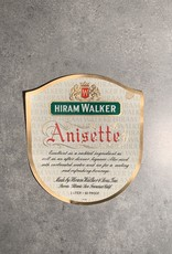 UA Merch Hiram Walker & Sons Peoria Il.  Anisette Label