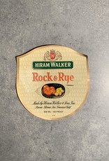 UA Merch Hiram Walker & Sons Peoria Il. Rock & Rye Label