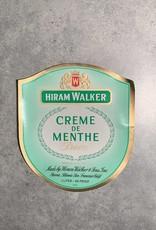 UA Merch Hiram Walker & Sons Peoria Il. Creme De Menthe Label