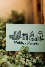 UA Merch Peoria Skyline Postcard