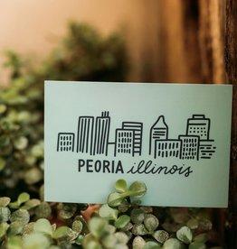 UA Merch Peoria Skyline Postcard