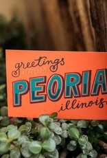 UA Merch Greeting Peoria Postcard