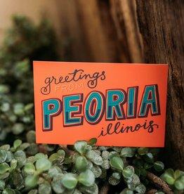 UA Merch Greetings Peoria Postcard