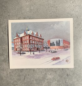 UA Merch Peoria Note Card by Mort Greene City Hall & Civic Center