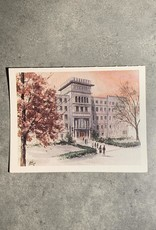 UA Merch Peoria Note Card by Mort Greene Bradley Hall