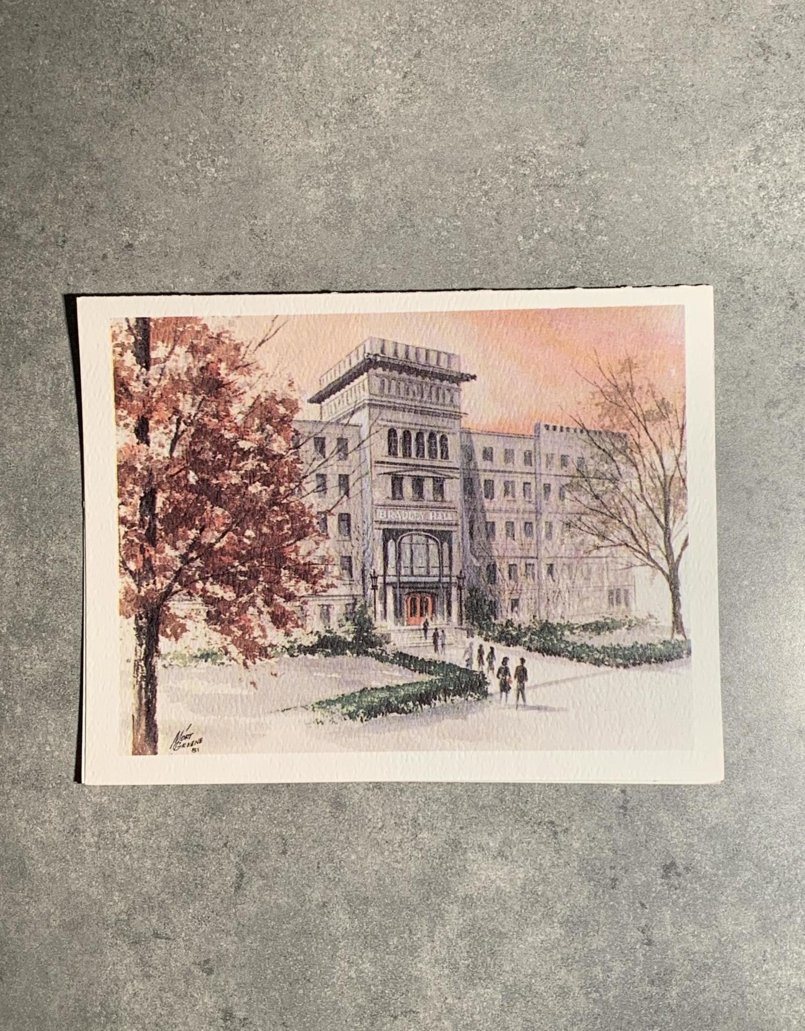 UA Merch Peoria Note Card by Mort Greene Bradley Hall