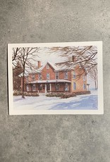 UA Merch Peoria Note Card by Mort Greene Judge John C. Flanagan House