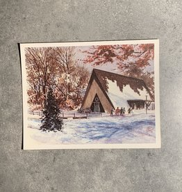 UA Merch Peoria Note Card by Mort Greene Forest Park Nature Center