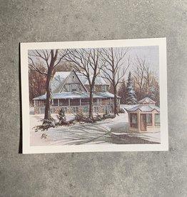 UA Merch Peoria Note Card by Mort Greene Glen Oak Park Pavilion