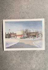 UA Merch Peoria Note Card by Mort Greene Lakeview Museum