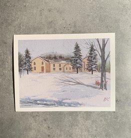 UA Merch Peoria Note Card by Mort Greene Jubilee College