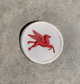 UA Merch Mobil Gasoline Uniform Patch Pegasus