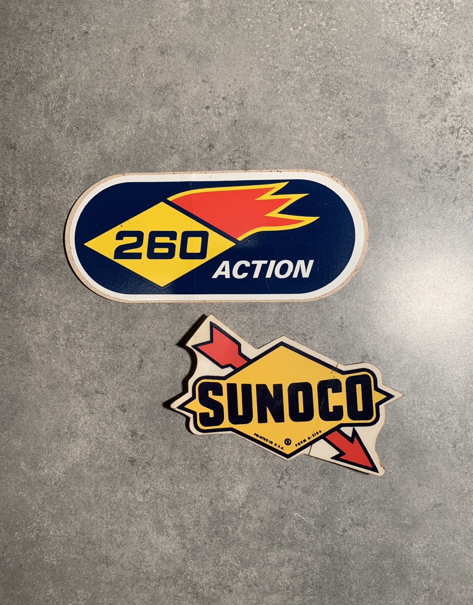 UA Merch 2 Sunoco Gas Decals