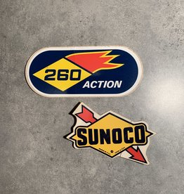 UA Merch 2 Sunoco Gas Decals
