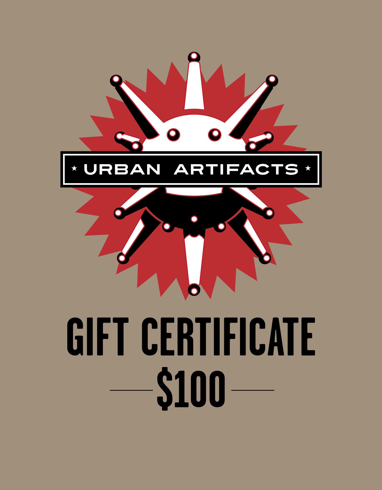 UA Merch Gift Certificate $100