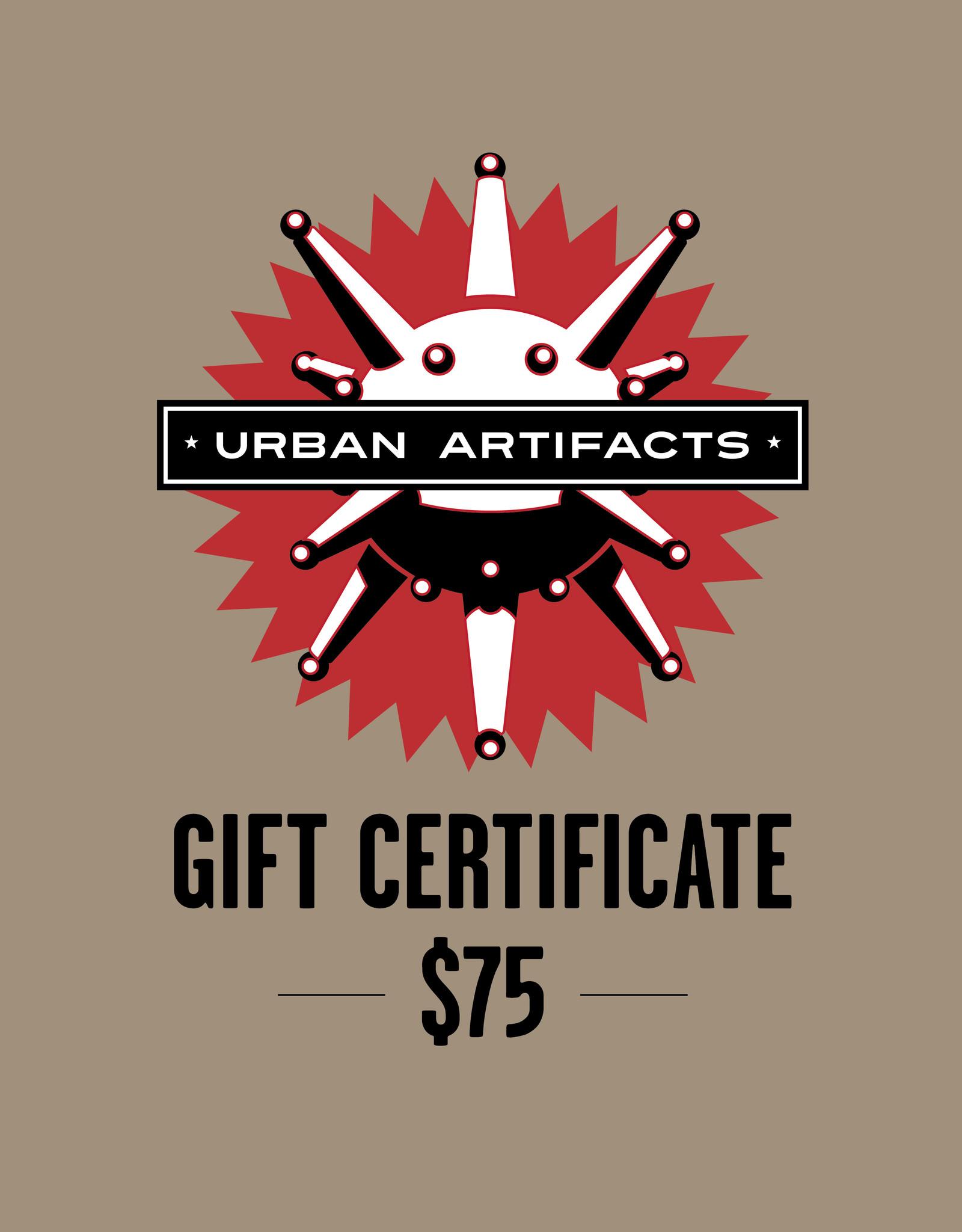 UA Merch Gift Certificate $75