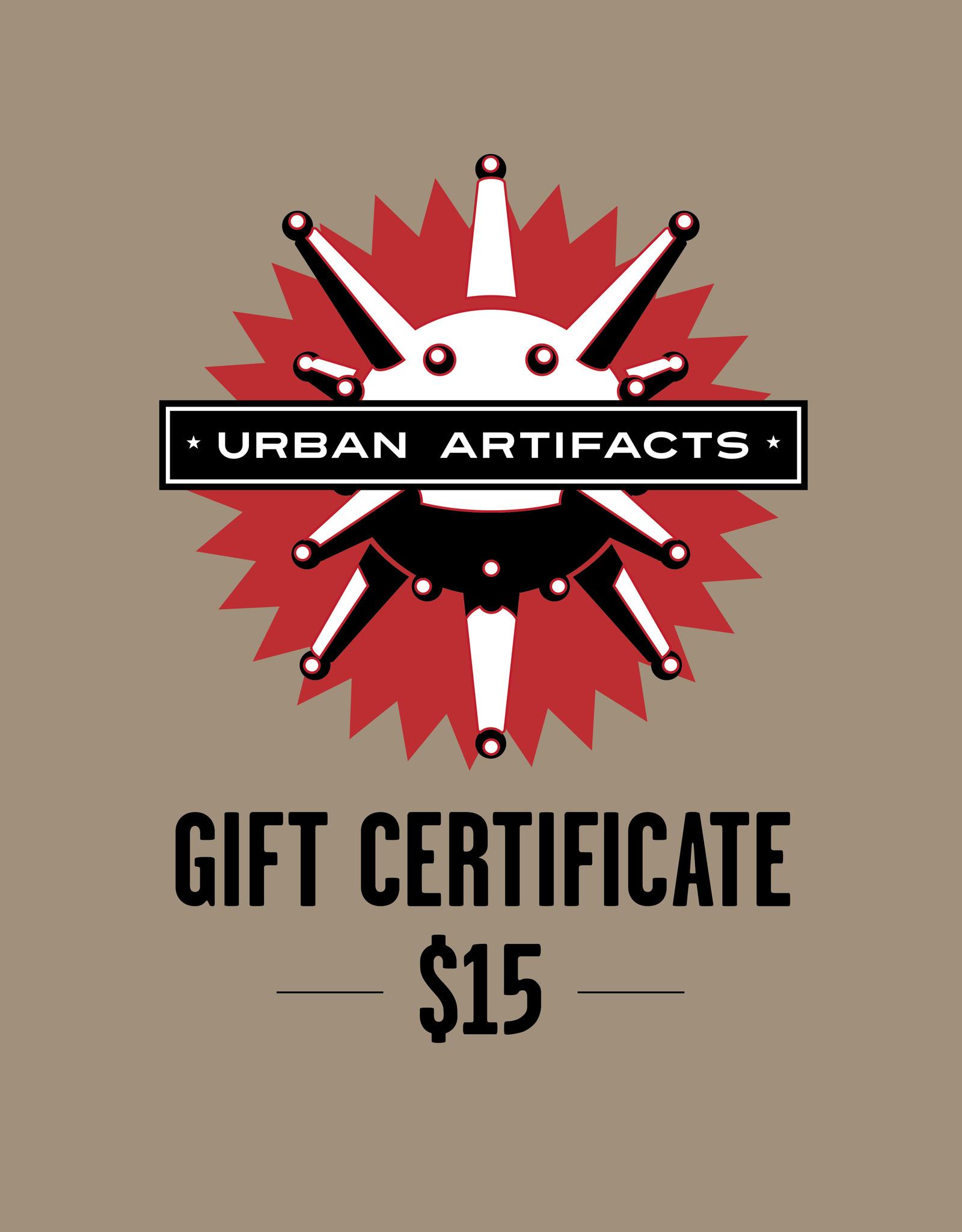 UA Merch Gift Certificate $15