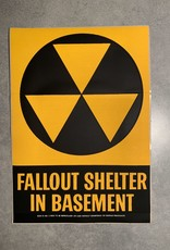 UA Merch Fallout Shelter Decal Basement