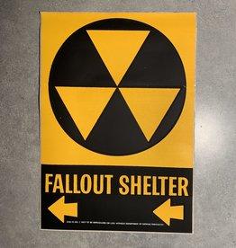 UA Merch Fallout Shelter Decal Left Arrow