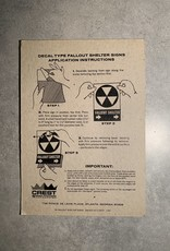 UA Merch Fallout Shelter Decal Right Arrow