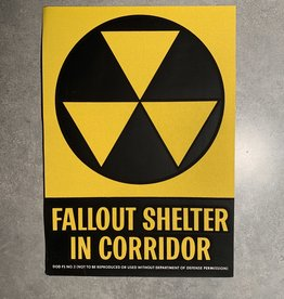 UA Merch Fallout Shelter Decal Corridor