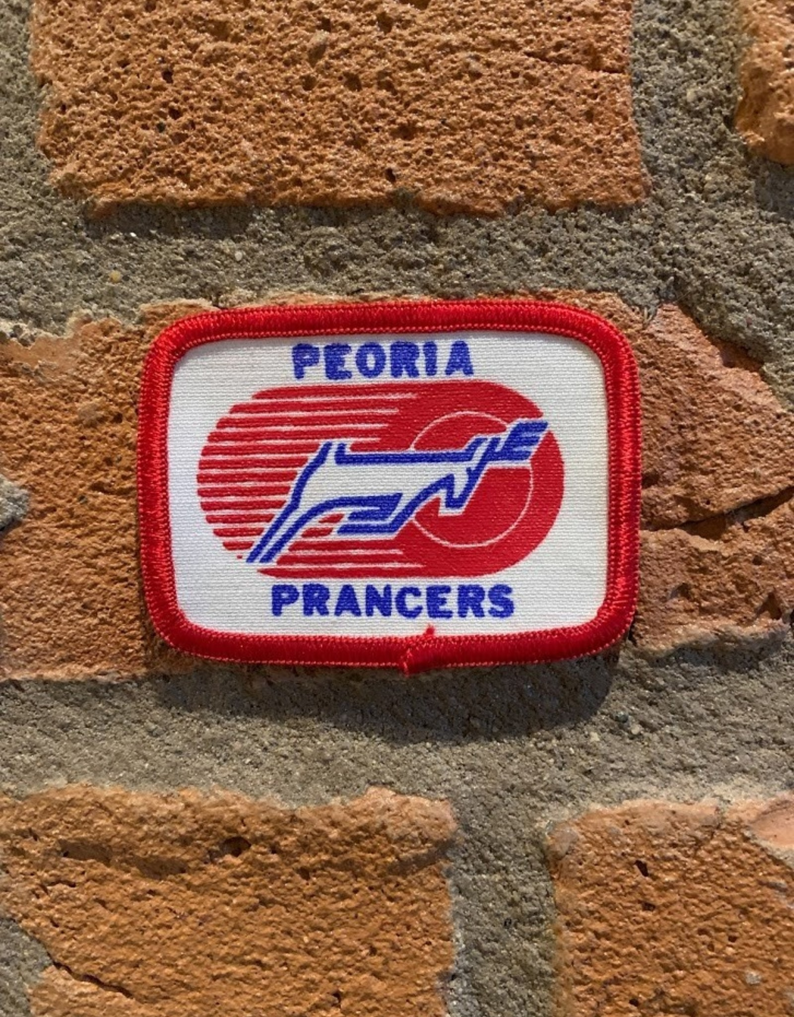 UA Merch Peoria Prancers Vintage Patch