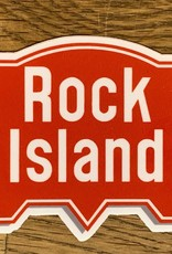 Rock Island sticker