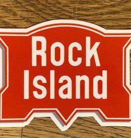 Rock Island sticker