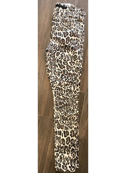 JOE'S CHARLIE HIGH RISE SKINNY ANKLE IN LEOPARD